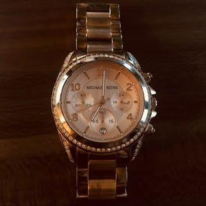 Michael Kors Rose Gold Blair Watch MK5263